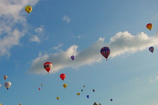 Up up and away (Warstein 14.09.03)