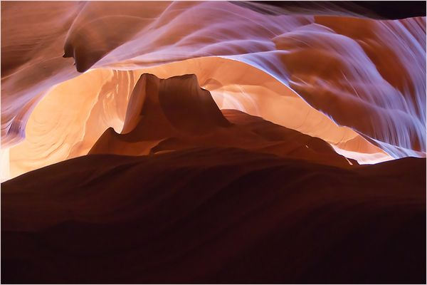 Upper Antelope Canyon - Monument Valley