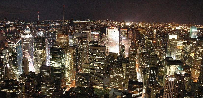 Upper Manhattan vom Empire State Building