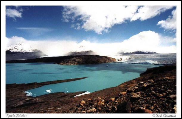 Upsala Gletscher in Patagonien
