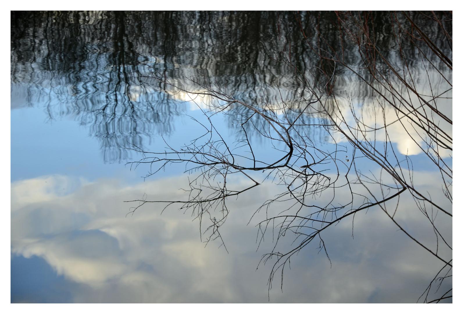 Upside down - Spiegelung am See