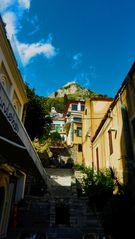 upward glance - Taormina, Sicily