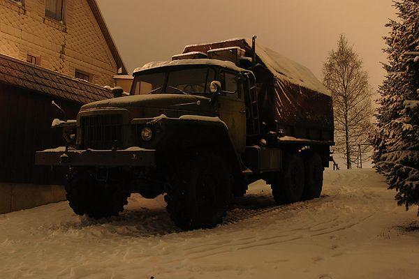 Ural bei Nacht