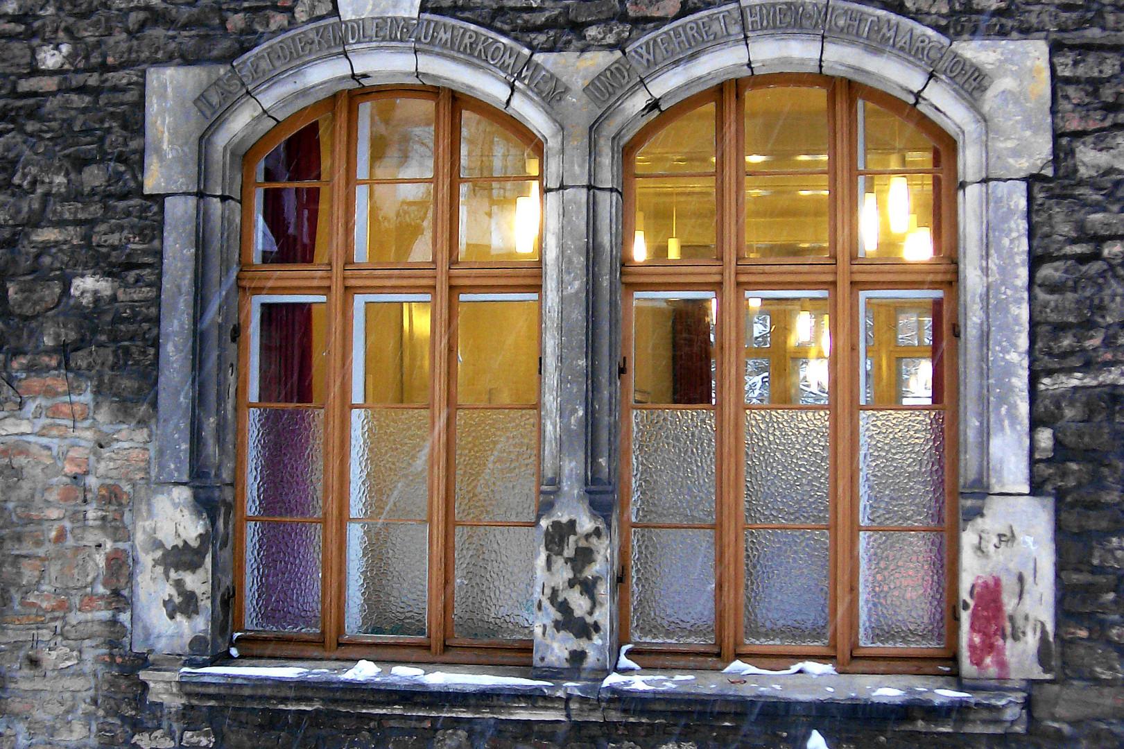 Uralte Fenster