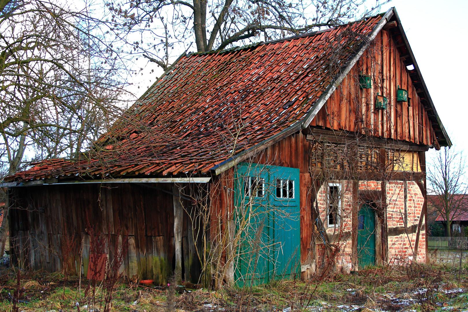 uraltes Backhaus