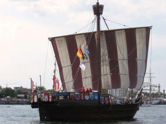 Urbena von Bremen bei der Hansesail Rostock 2009