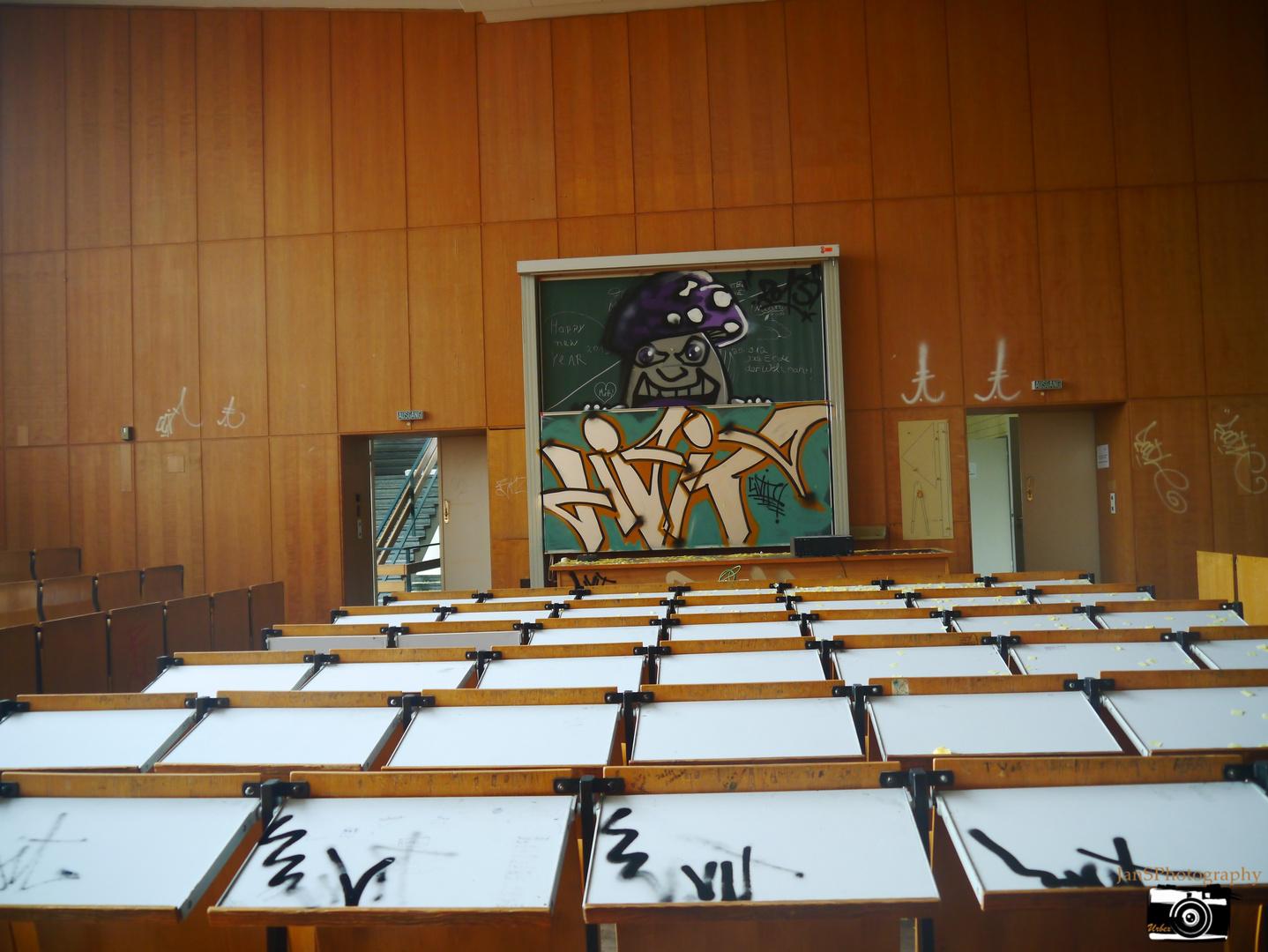 Urbex-Schule
