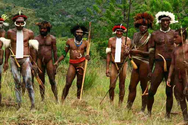 Ureinwohner in West-Papua