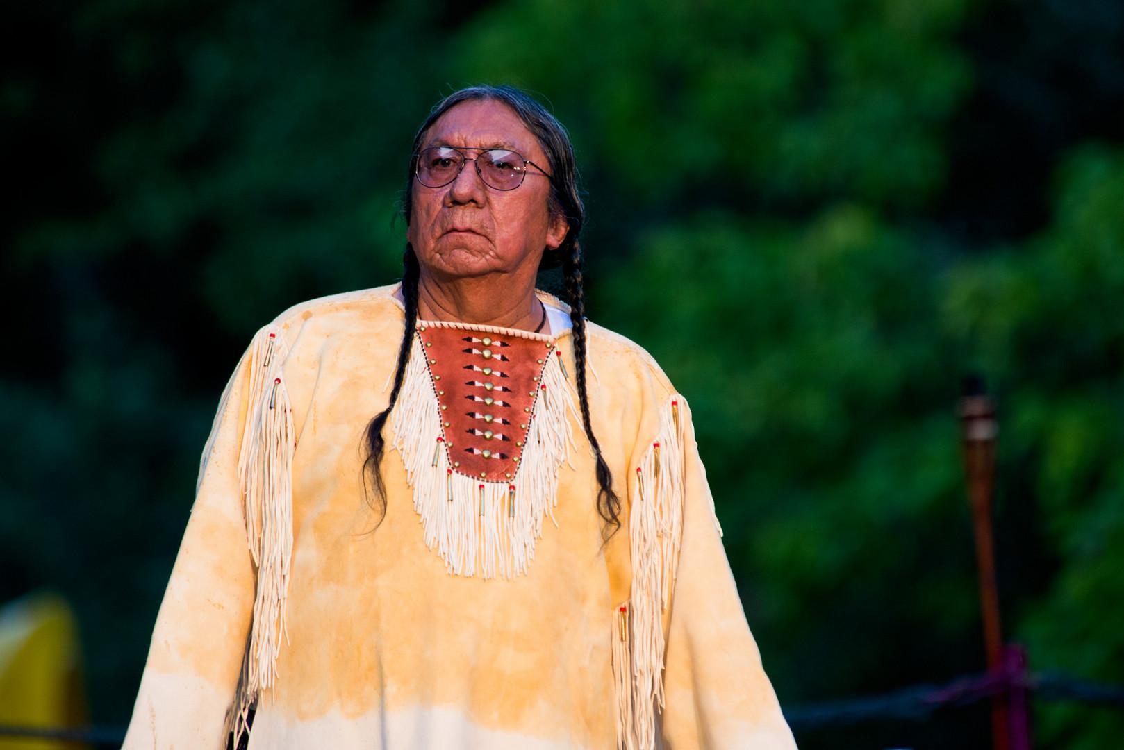 Urenkel von Sitting Bull 2