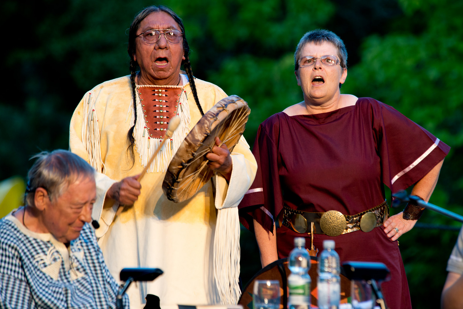 Urenkel von Sitting Bull