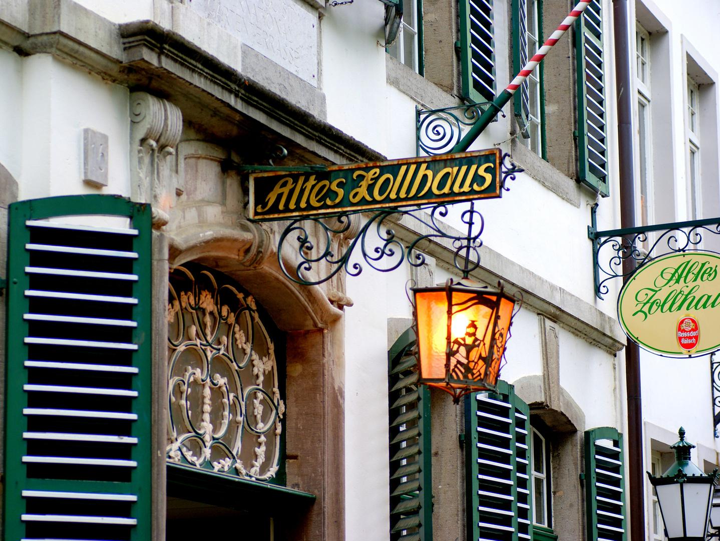 uriges Restaurant in Zons