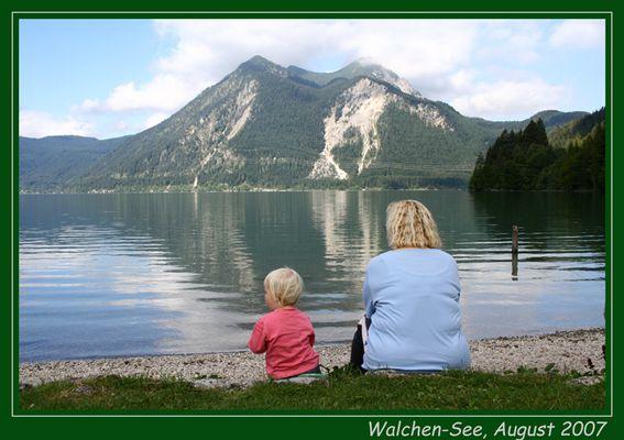 Urlaub am Walchen-See