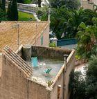 Urlaub auf dem Dach