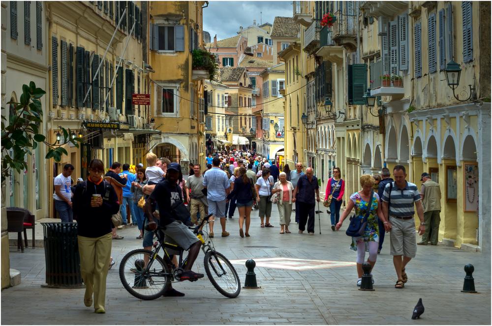 Urlaub in Korfu Stadt