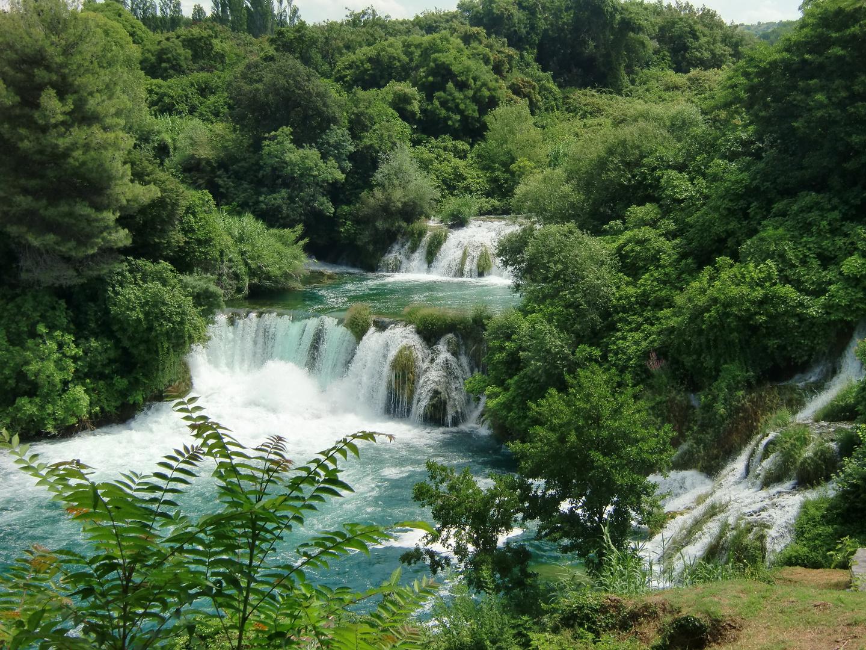 Urlaub  -   Krka Wasserfälle