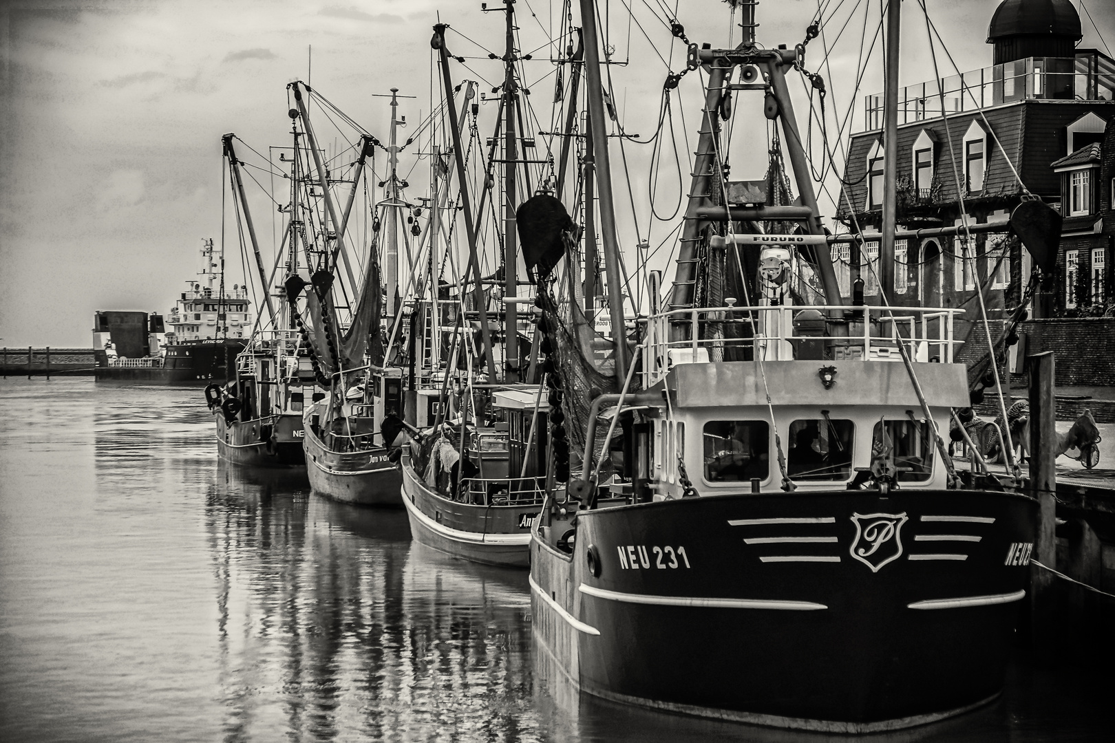 Urlaubseindrücke am Hafen