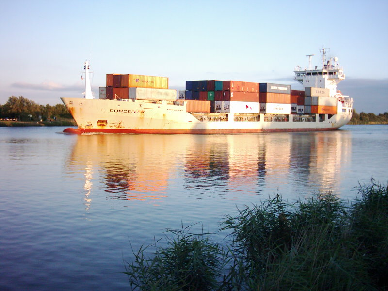 Urlaubsimpression vom Nord-Ostsee-Kanal bei Rendsburg
