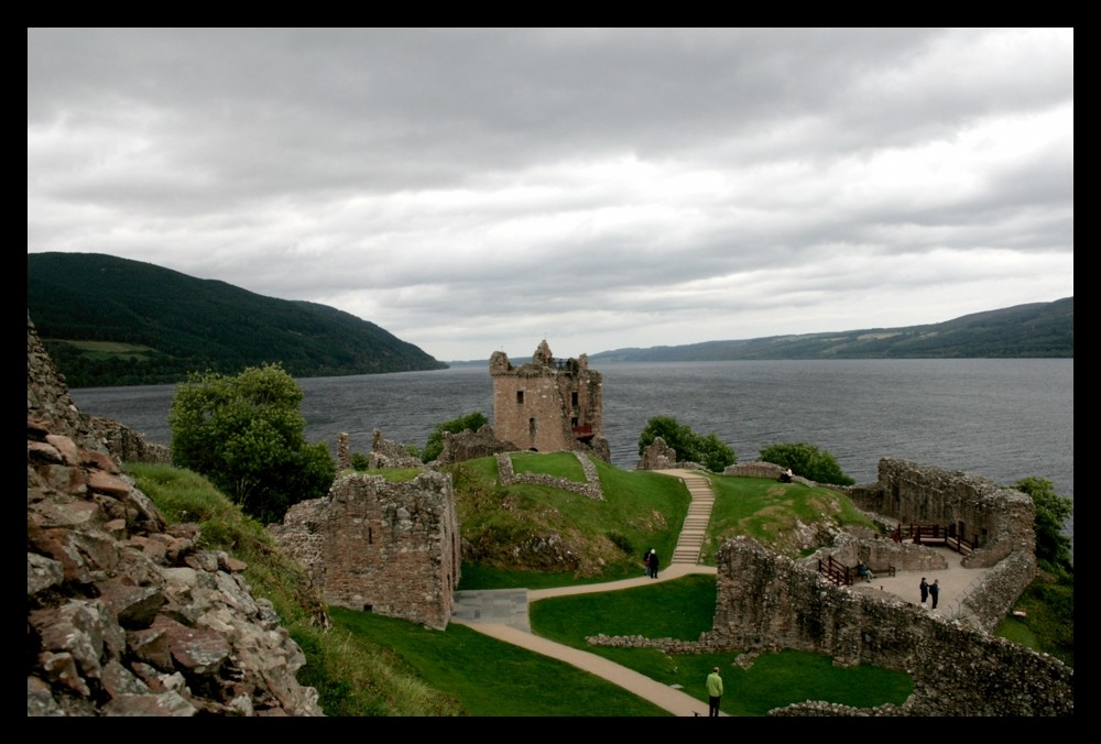 Urquhart and Loch Ness
