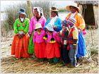 Urus, die Bewohner der schwimmenden Inseln auf dem Titicaca-See