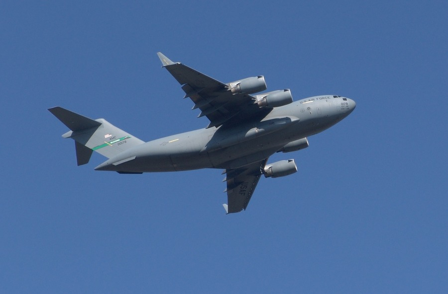 US Air Force Boeing C-17A Globmaster III