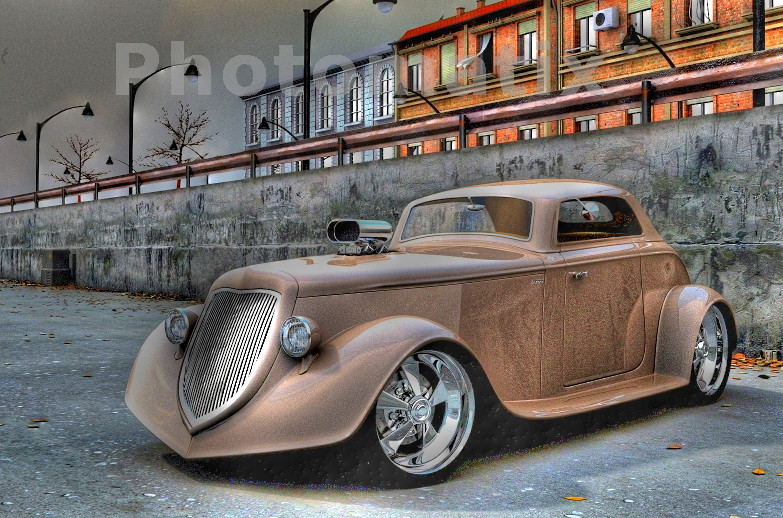 us car in hdr foto bild autos zweir der oldtimer youngtimer us cars amerikanische. Black Bedroom Furniture Sets. Home Design Ideas