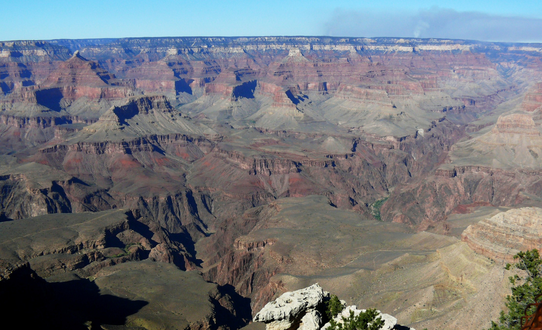 "USA 2011 - Autorundreise ""Grand Circle"" - Erster Blick in den Grand Canyon"