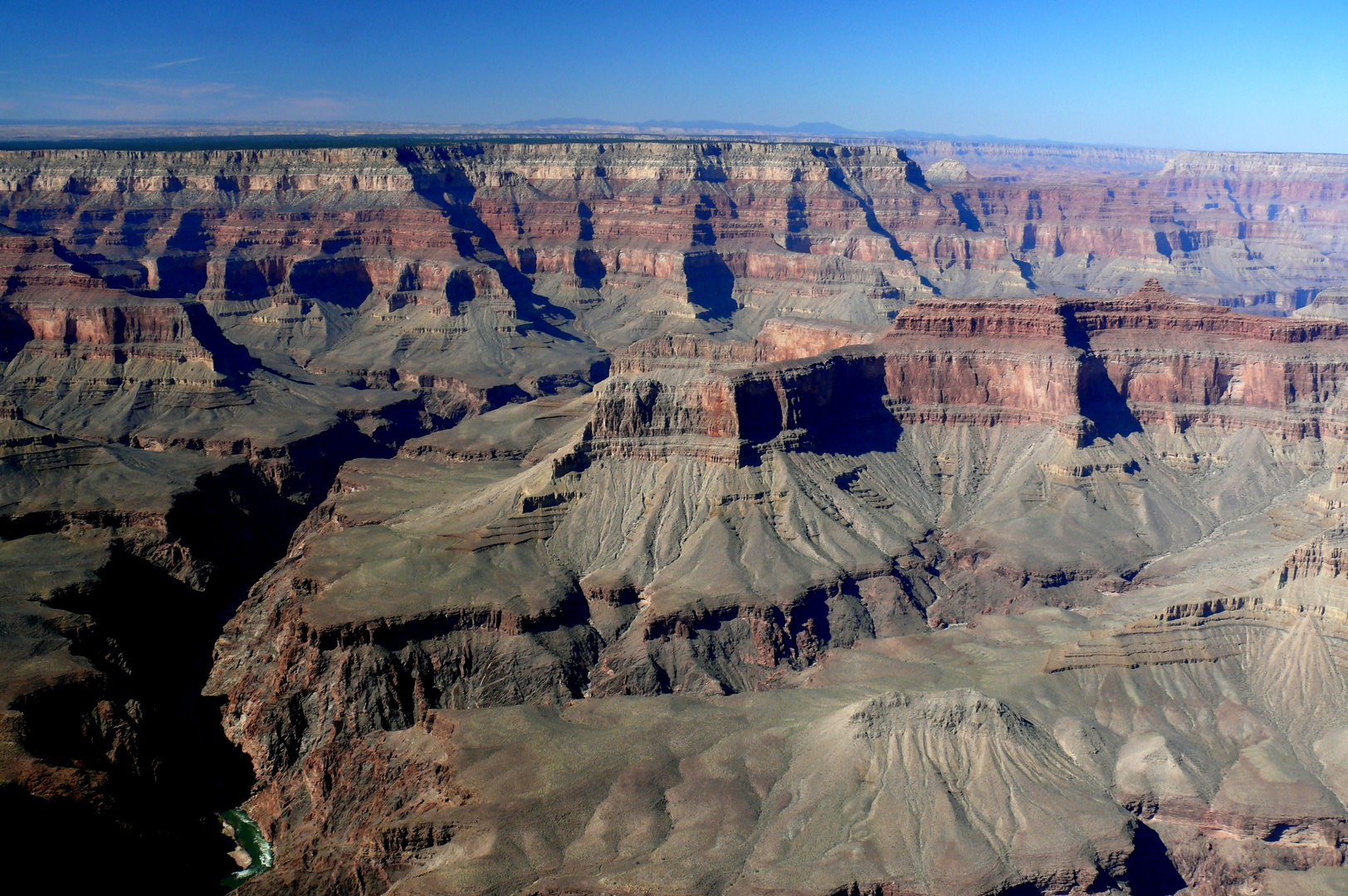 "USA 2011 - Autorundreise ""Grand Circle"" - Grand Canyon aus dem Helikopter fotografiert"