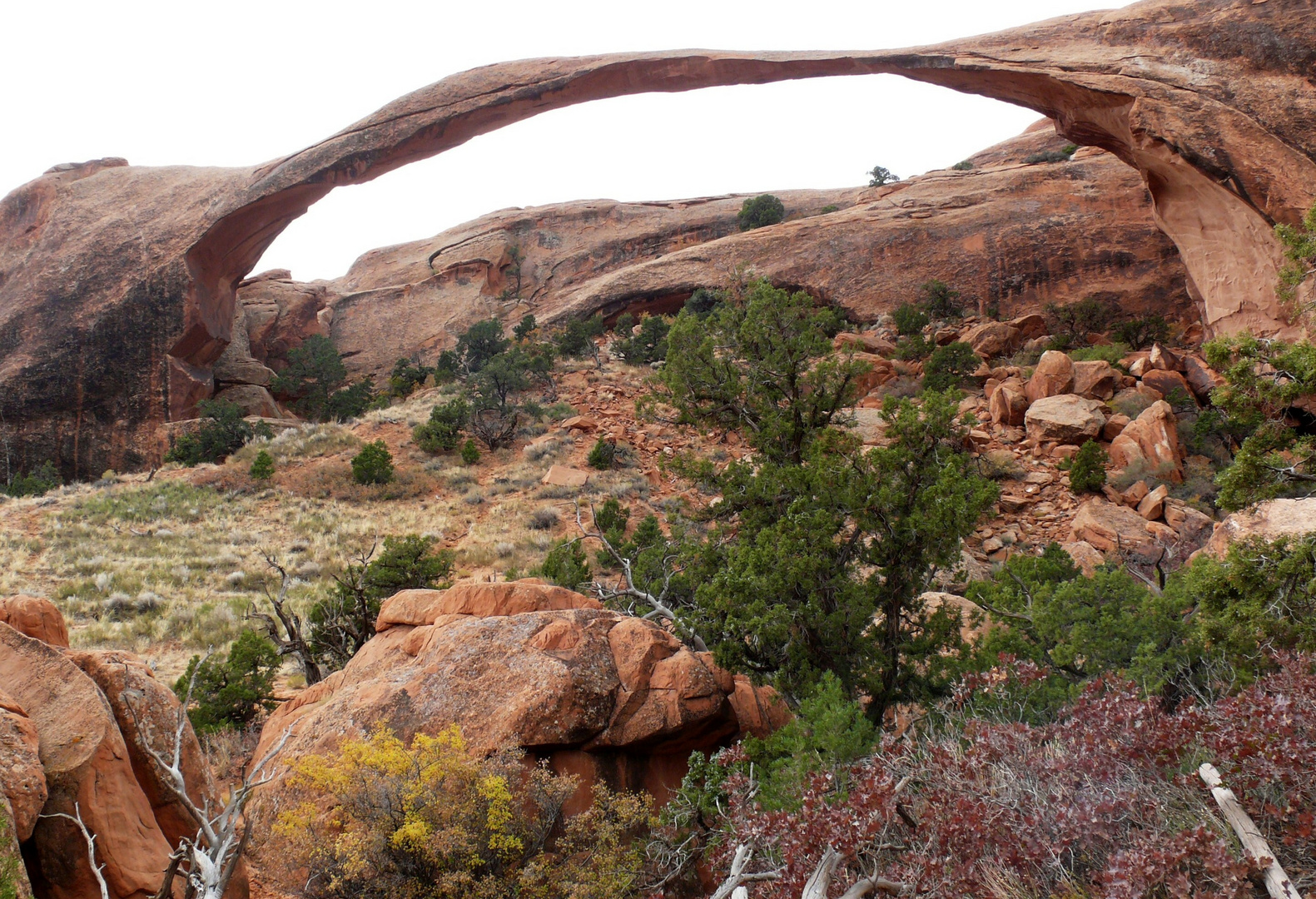 "USA 2011 - Autorundreise ""Grand Circle"" - Landscape Arch im Arches N.P:"