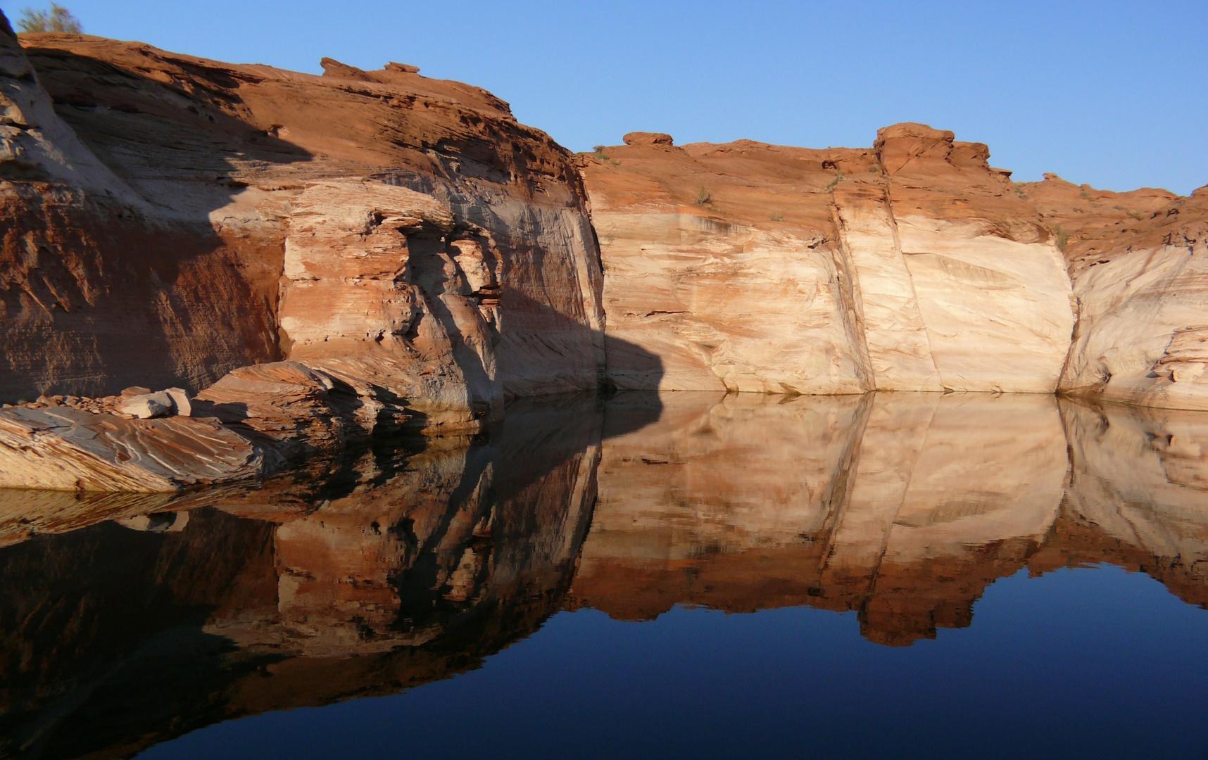 """USA 2011 - Autorundreise """"Grand Circle"""" - Schiffstour zum Antelope Canyon"""
