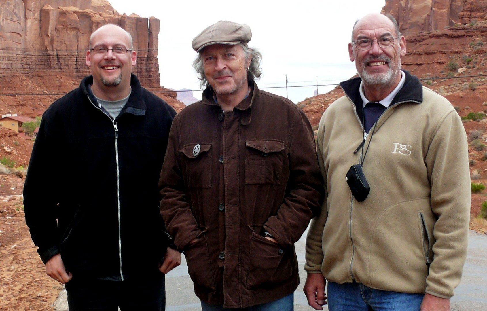 """USA 2011 - Autorundreise """"Grand Circle"""" - Überraschendes Treffen im Monument Valley"""