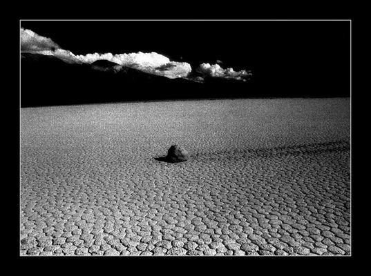 USA / California / Death Valley N.M. / Racetrack
