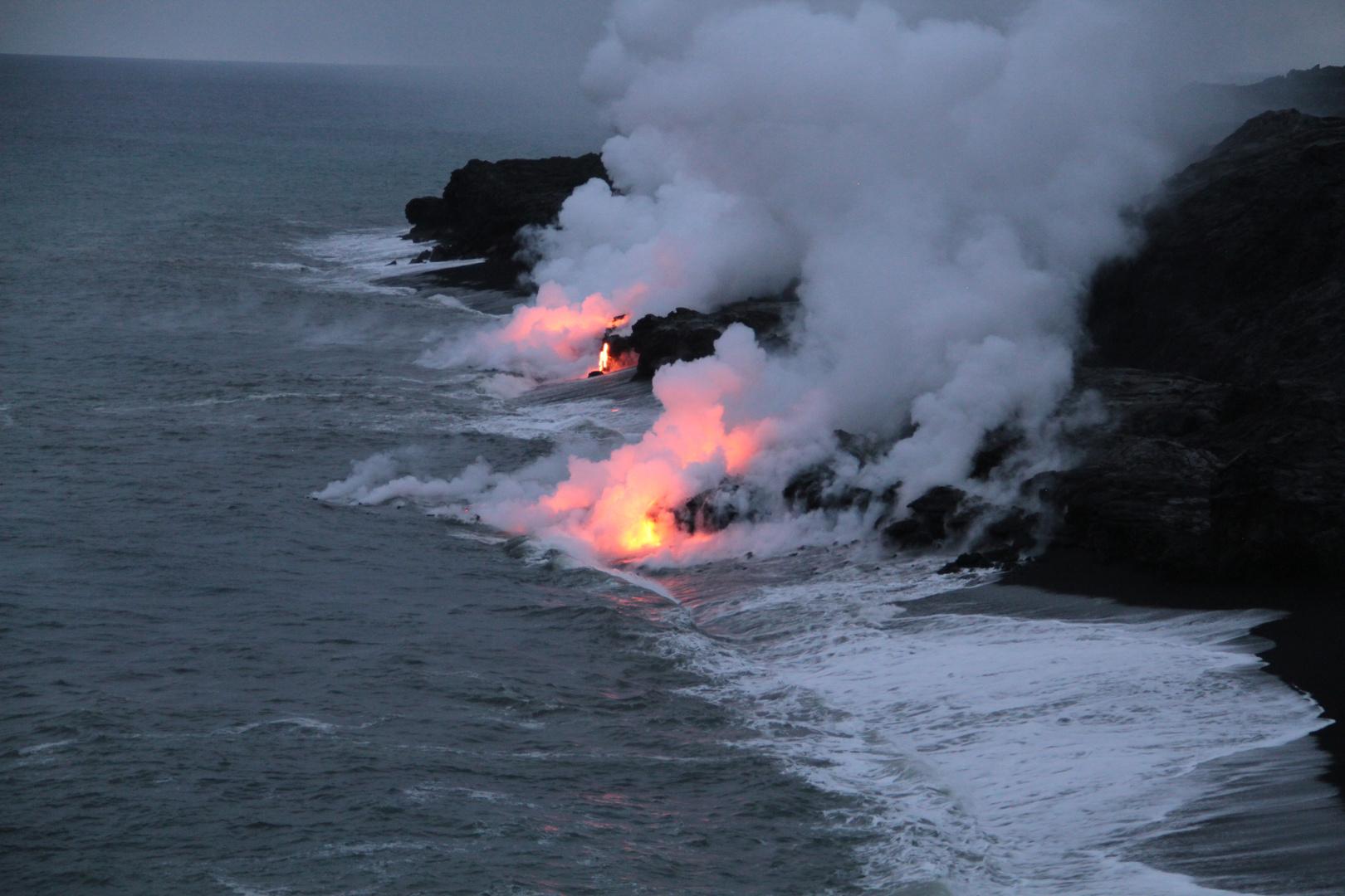 USA-HAWAII-VULKAN-KILAUEA