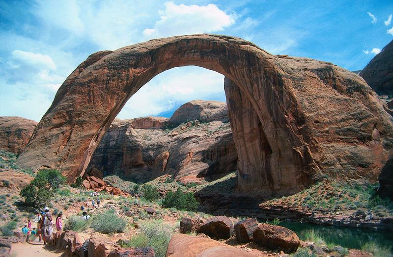 USA Utah Rainbow Bridge