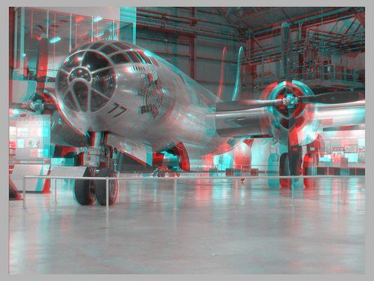 """USAF-Museum: Boeing B-29 """"Bockscar"""""""