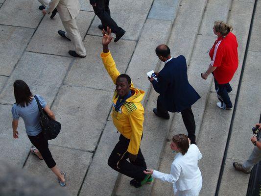 Usain Bolt, 12. IAAF Leichtathletik WM Berlin (17.08.2009)