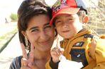 Usbekistan hat schöne Kinder