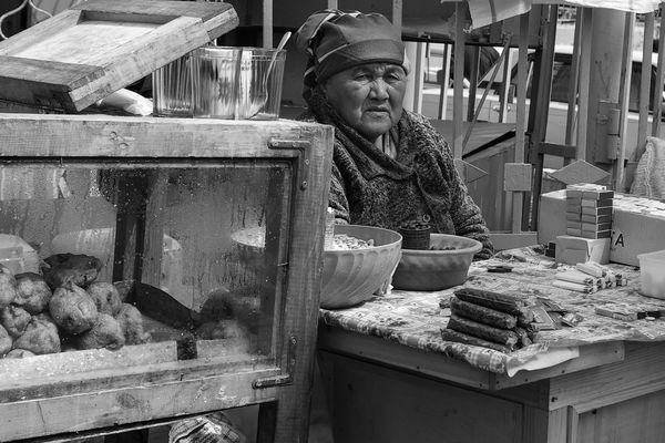 Usbekistan Markt