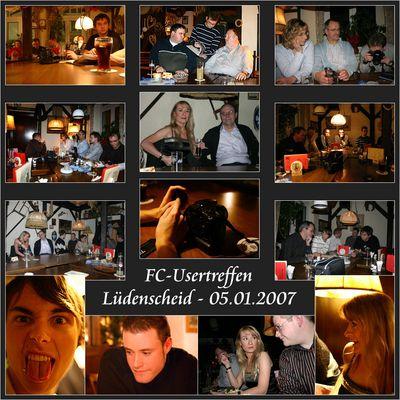 Usertreffen Lüdenscheid - 05.01.2007 - Collage No. 1