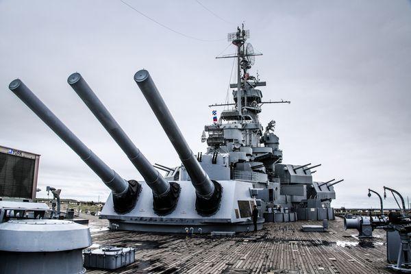 USS Alabama in Mobil