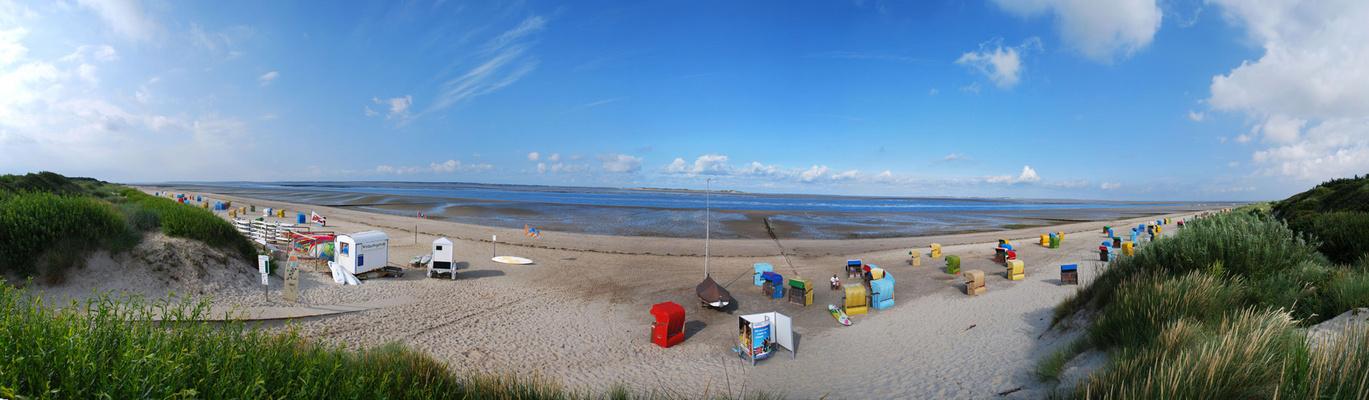 Utersum Strand Panorama
