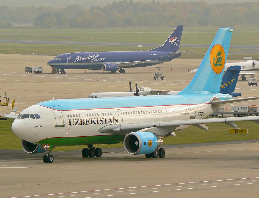 Uzbekistan A310 in CGN