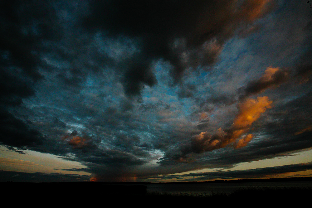 V or dem Sturm