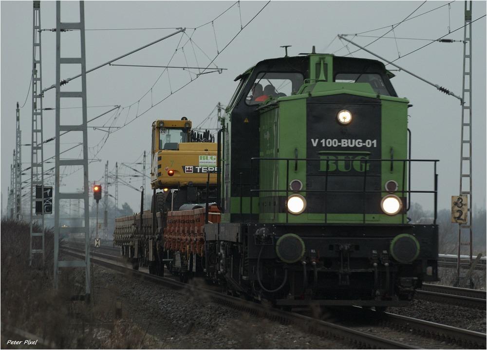 V100 der BUG Verkehrsbau AG