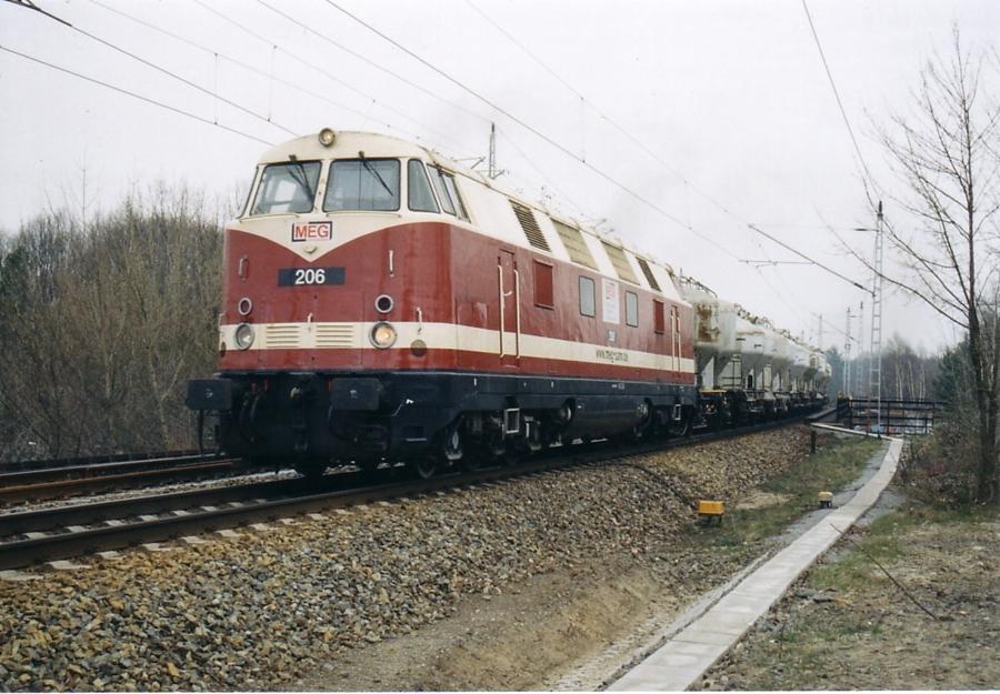 V180 der MEG auf dem östlichen Berliner Aussenring