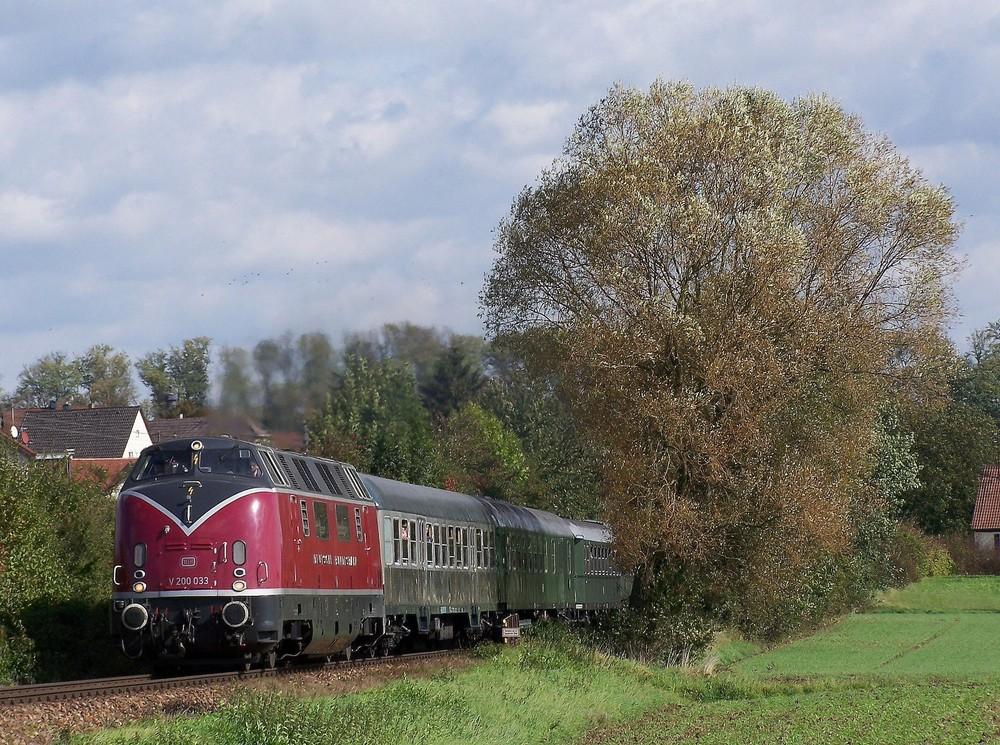 V200 033 im Kraichgau