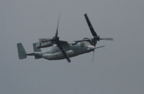 V22-Osprey - diesmal im Flugzeug-Modus
