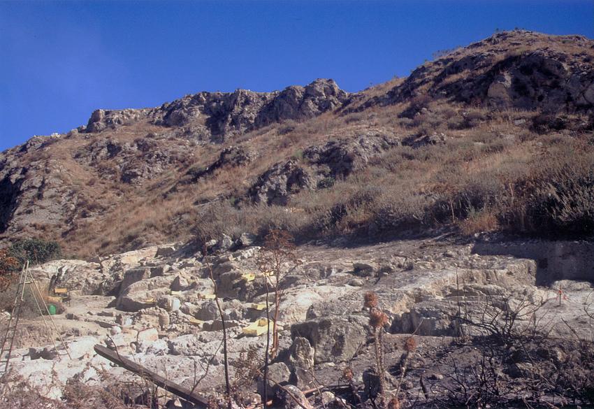 Vaccarizzo - Die Kornkammer Roms - auf Sizilien XXVII - Archäologische Ausgrabungsstätte