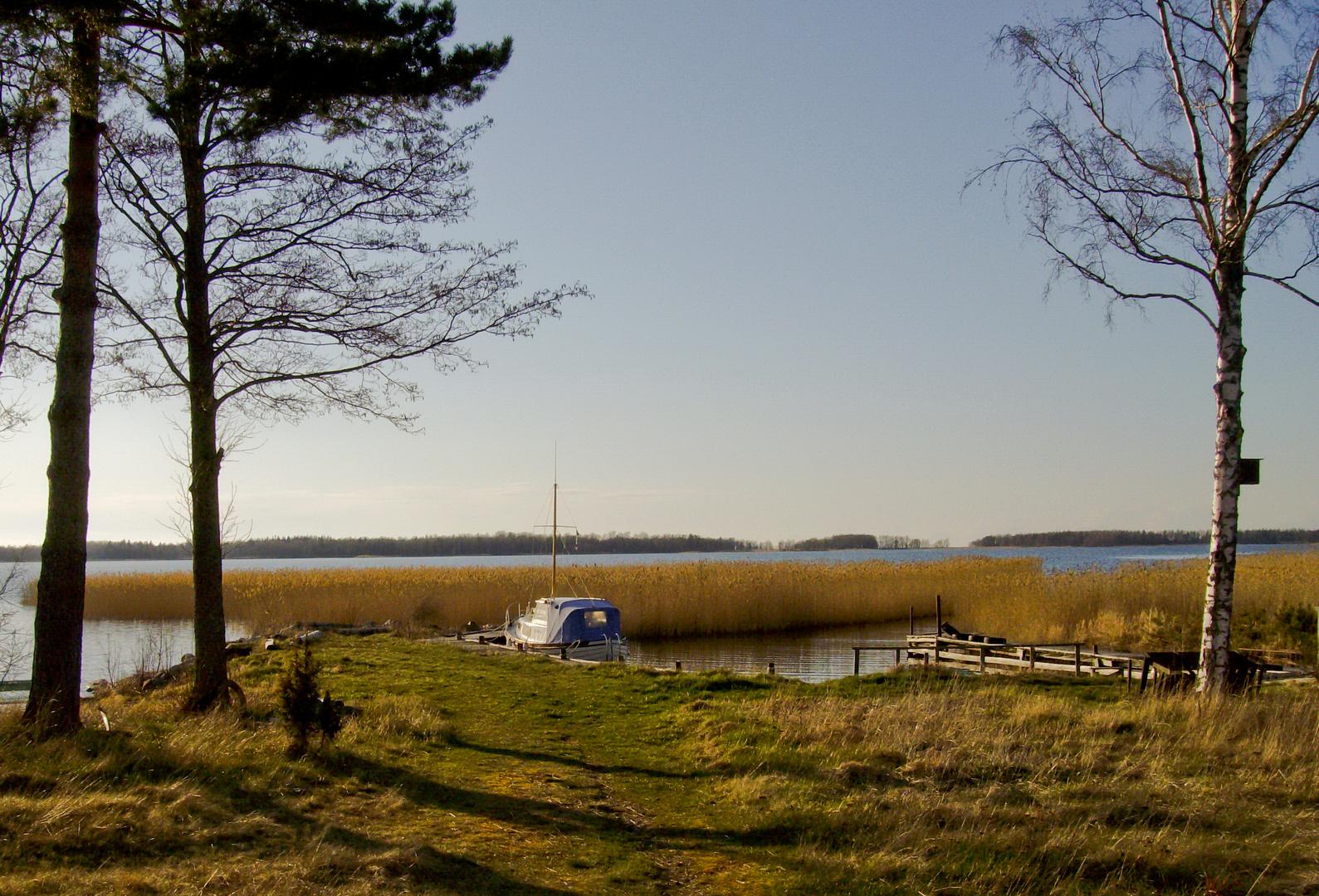 Vänern-Ufer in Otterbäcken