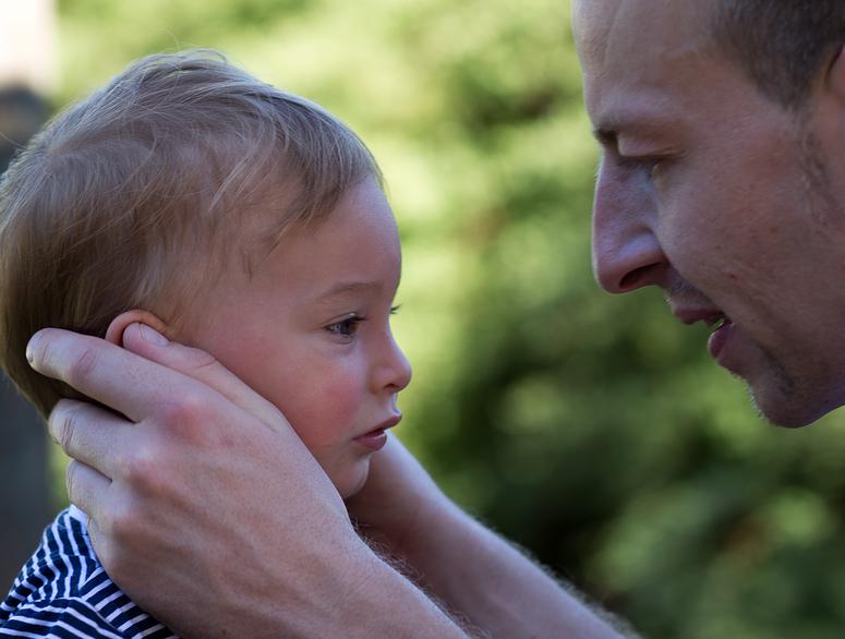 väterliche Fürsorge