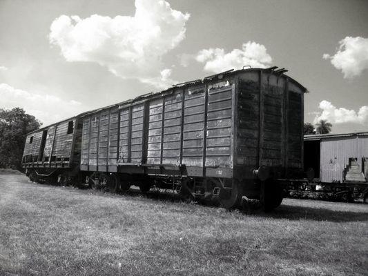 vagon abandonado